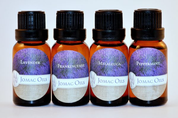 Starter Kit - Lavender, Frankincense, Melaleuca, and Peppermint 15 ml/ea.